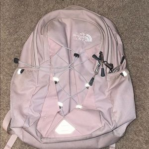 north face blush pink jester backpack
